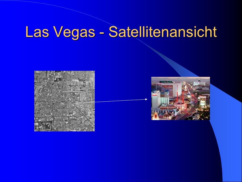 Las Vegas - Satellitenansicht