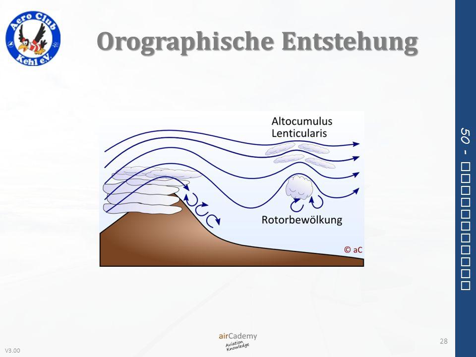 Orographische Entstehung