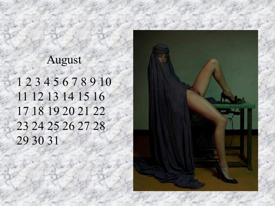 August 1 2 3 4 5 6 7 8 9 10 11 12 13 14 15 16 17 18 19 20 21 22 23 24 25 26 27 28 29 30 31. RT.