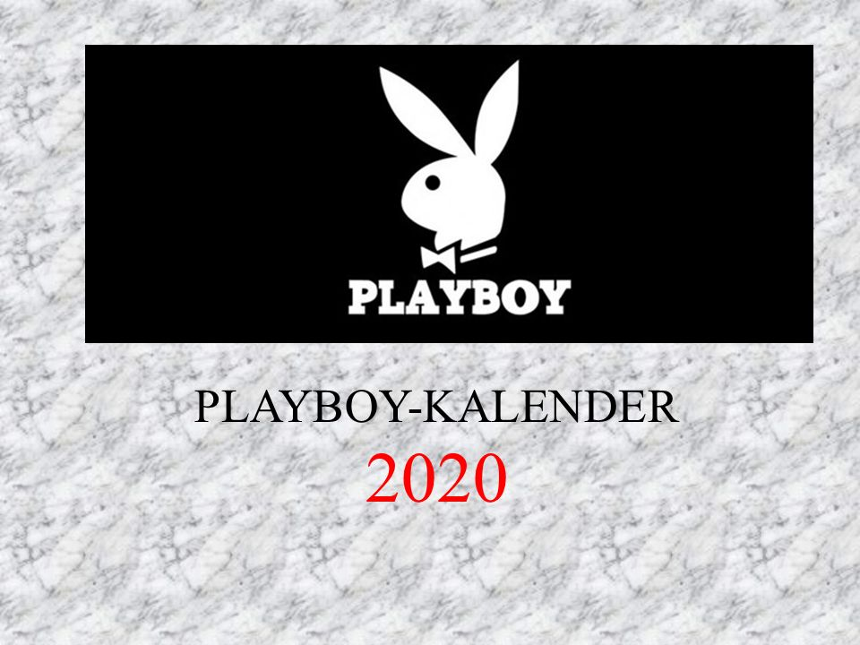 PLAYBOY-KALENDER 2020