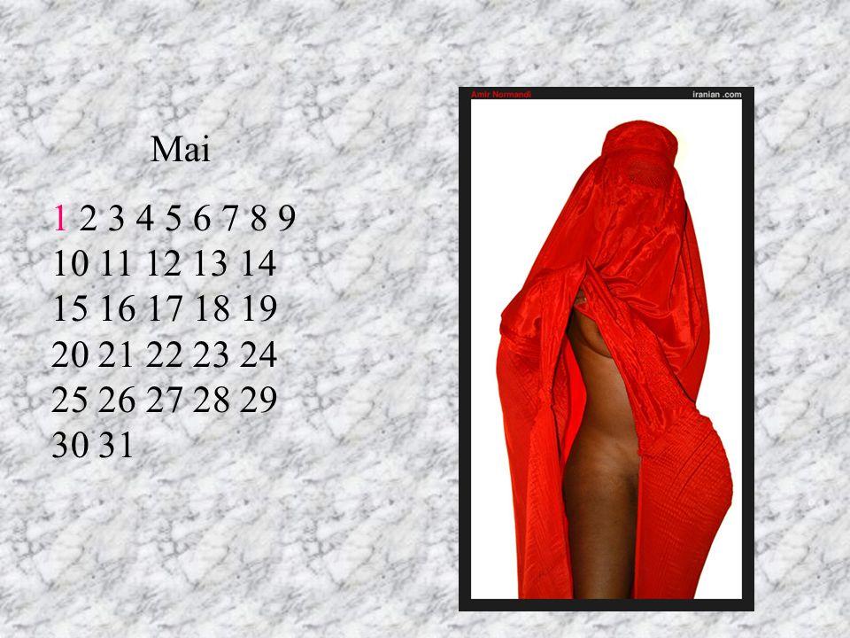 Mai 1 2 3 4 5 6 7 8 9 10 11 12 13 14 15 16 17 18 19 20 21 22 23 24 25 26 27 28 29 30 31 RT 7