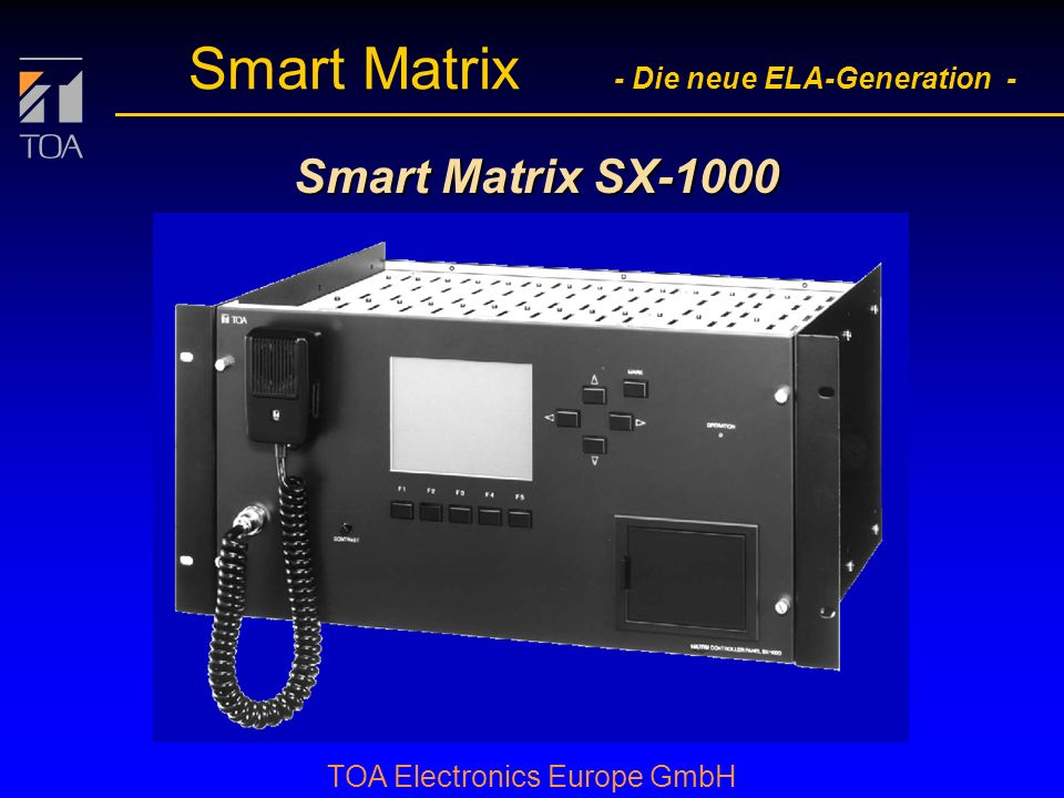 Smart Matrix SX-1000