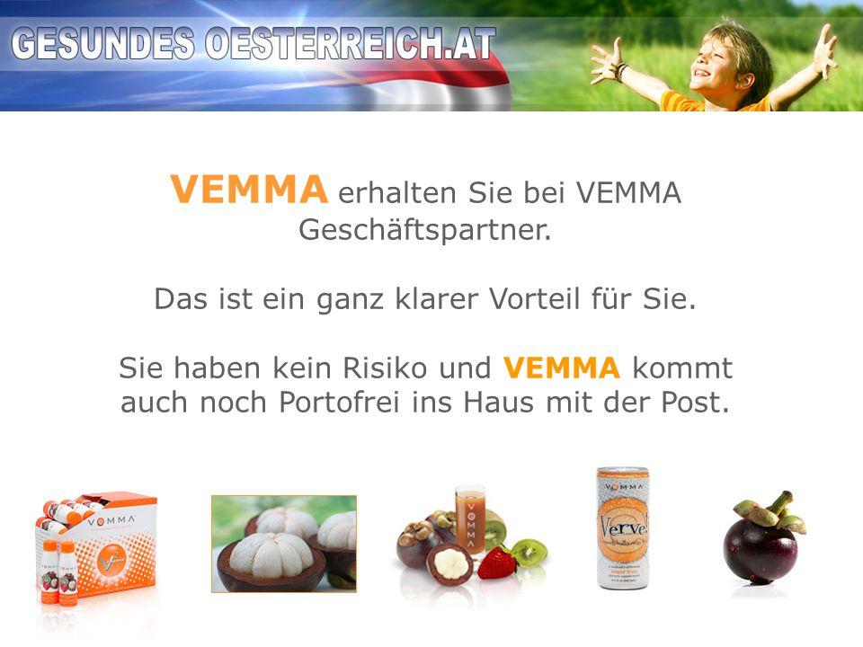 VEMMA erhalten Sie bei VEMMA Geschäftspartner.