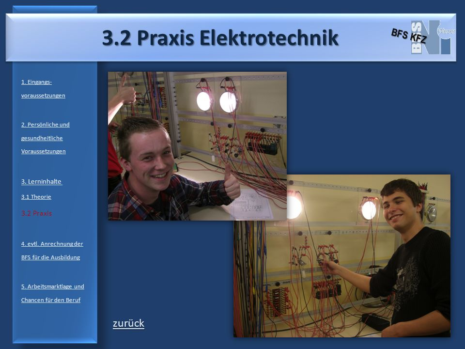 3.2 Praxis Elektrotechnik