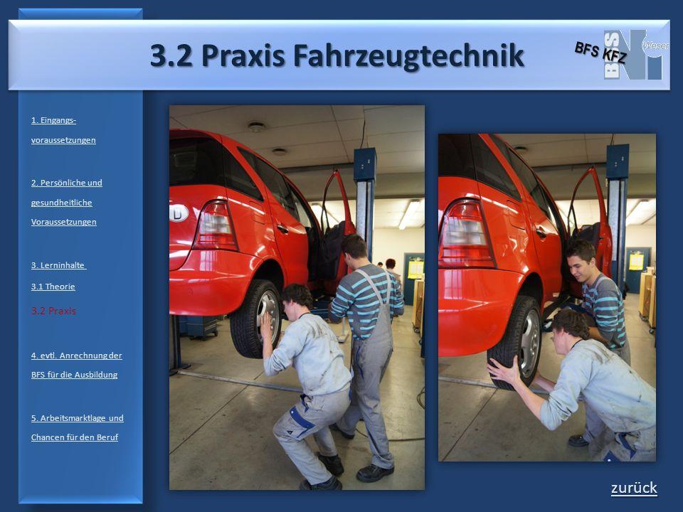 3.2 Praxis Fahrzeugtechnik