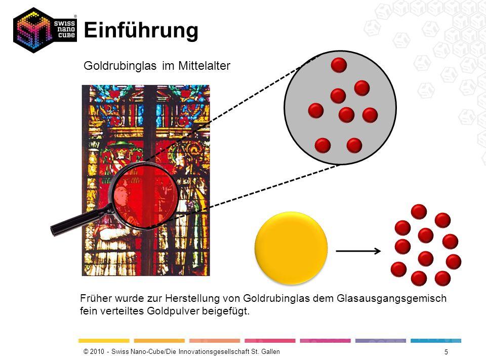 Einführung Goldrubinglas im Mittelalter