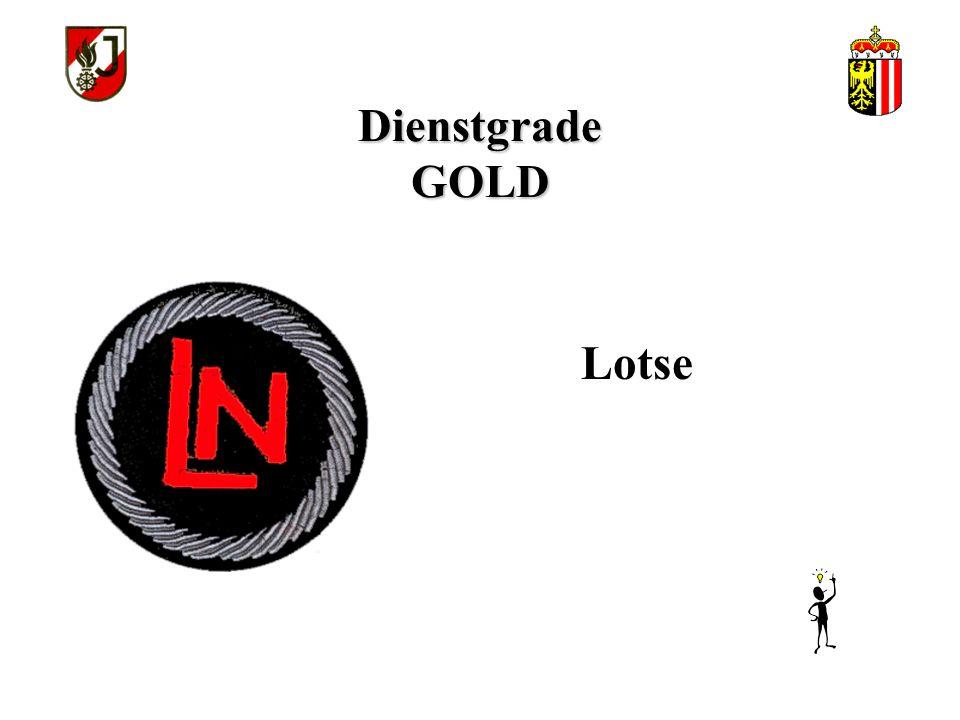 Dienstgrade GOLD Lotse