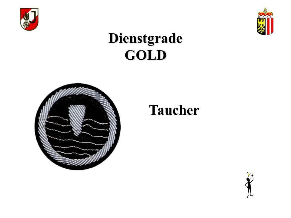 Dienstgrade GOLD Taucher