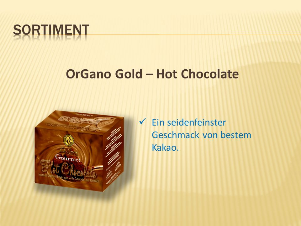 OrGano Gold – Hot Chocolate