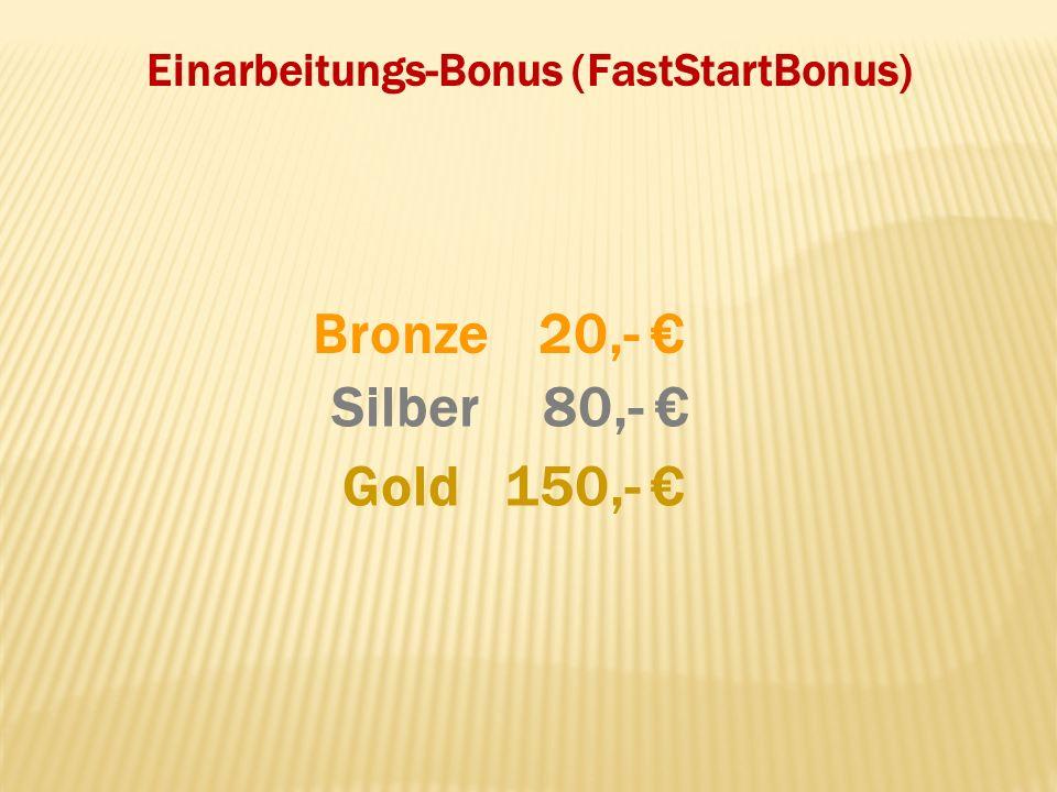 Einarbeitungs-Bonus (FastStartBonus)