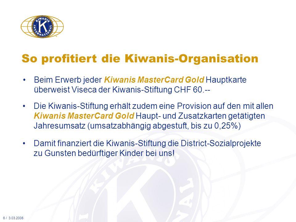 So profitiert die Kiwanis-Organisation