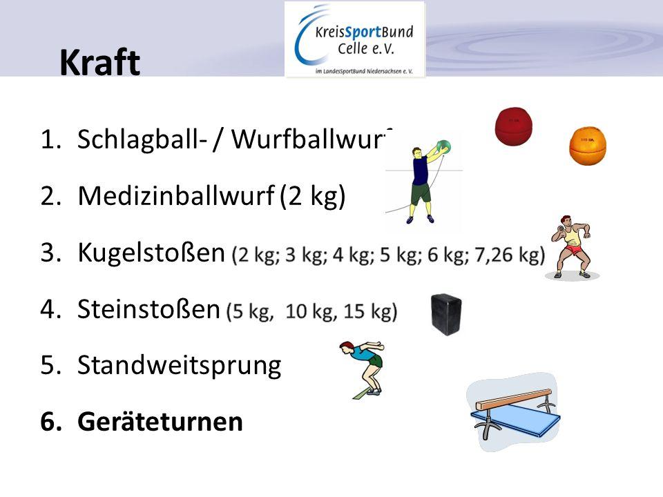 Kraft Schlagball- / Wurfballwurf Medizinballwurf (2 kg)