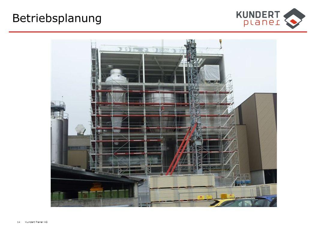 Betriebsplanung Milchtrocknungsturm, Emmi 2010 Dagmersellen
