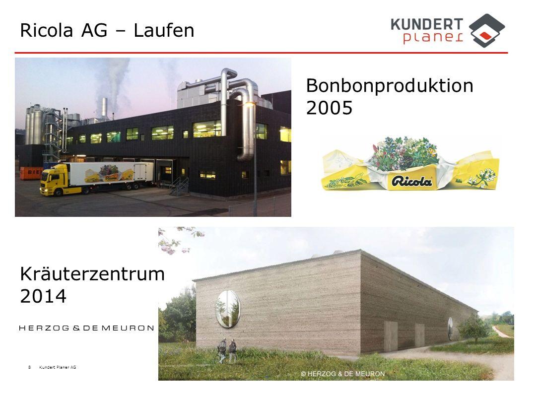 Ricola AG – Laufen Bonbonproduktion 2005 Kräuterzentrum 2014
