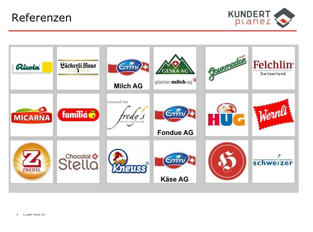 Referenzen Süsswaren, Backwaren, Milchprodukte, Fleischindustrie