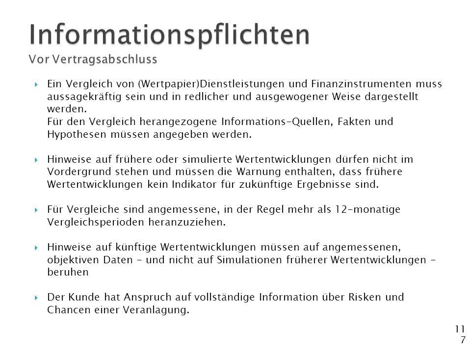 Informationspflichten Vor Vertragsabschluss