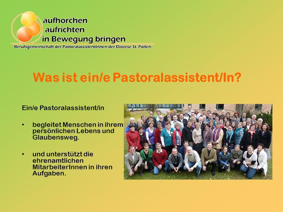 Was ist ein/e Pastoralassistent/In