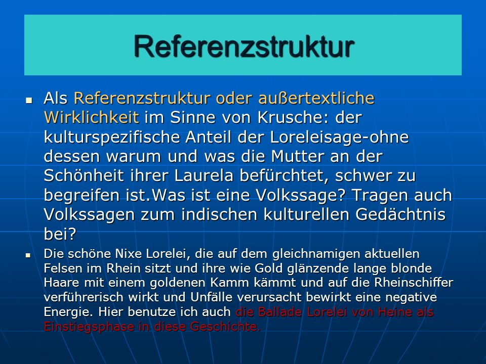Referenzstruktur