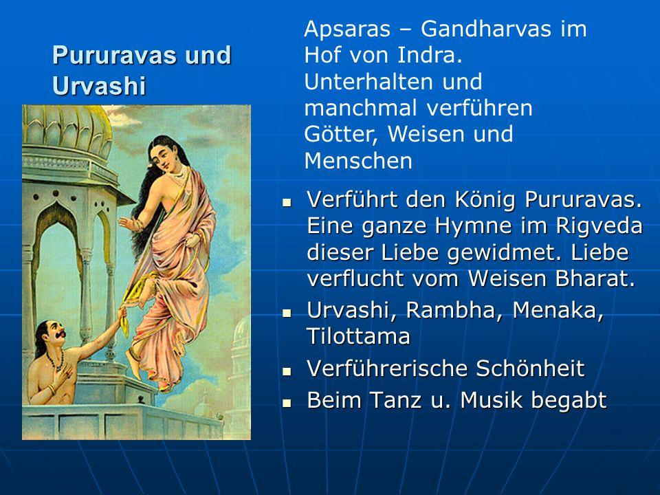Apsaras – Gandharvas im Hof von Indra