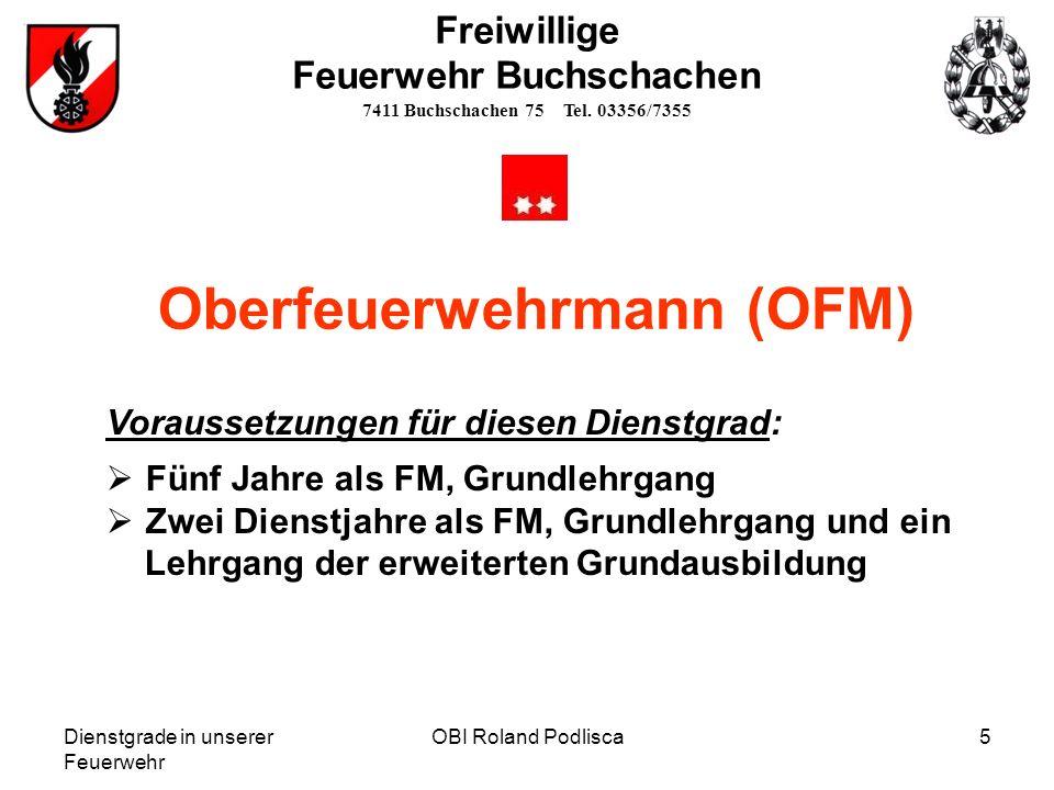 Oberfeuerwehrmann (OFM)