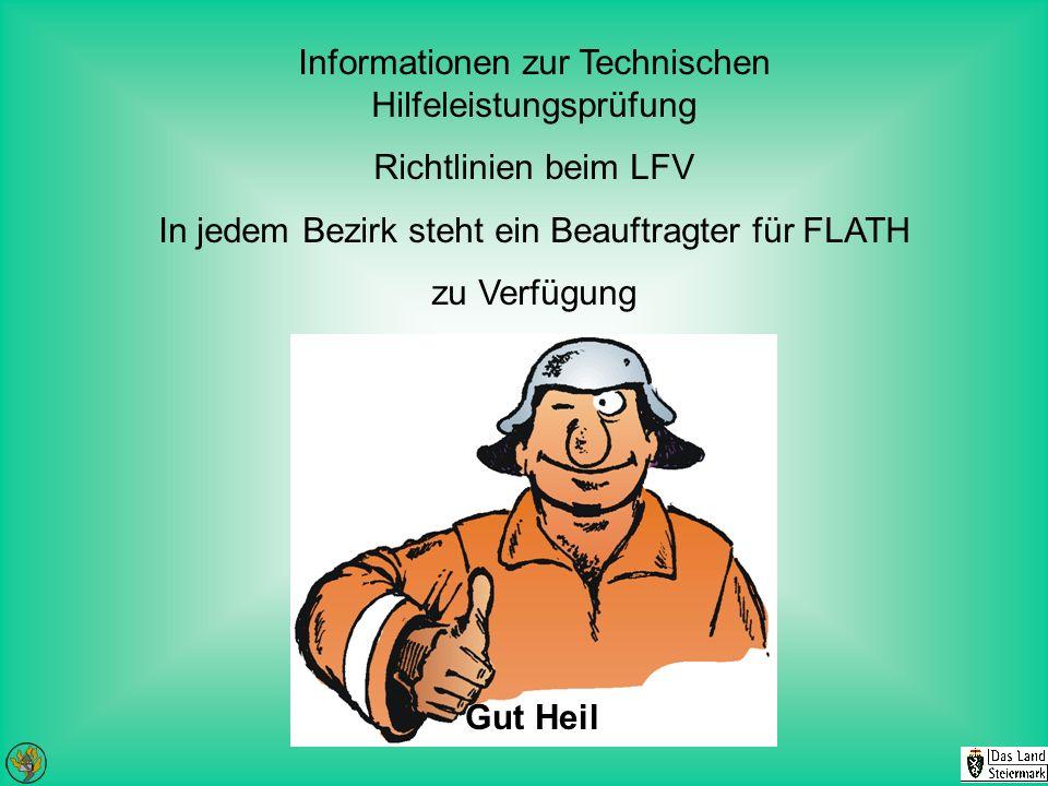 Informationen zur Technischen Hilfeleistungsprüfung