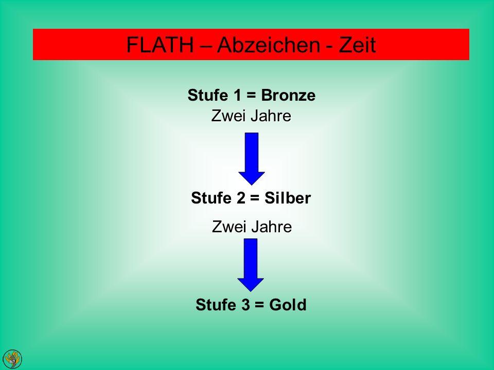 FLATH – Abzeichen - Zeit