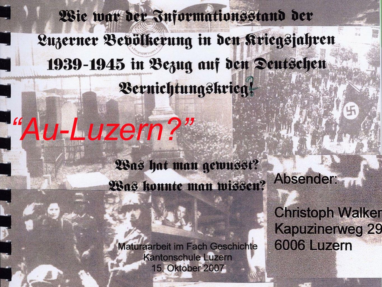 Au-Luzern Nachrichtenzentrum