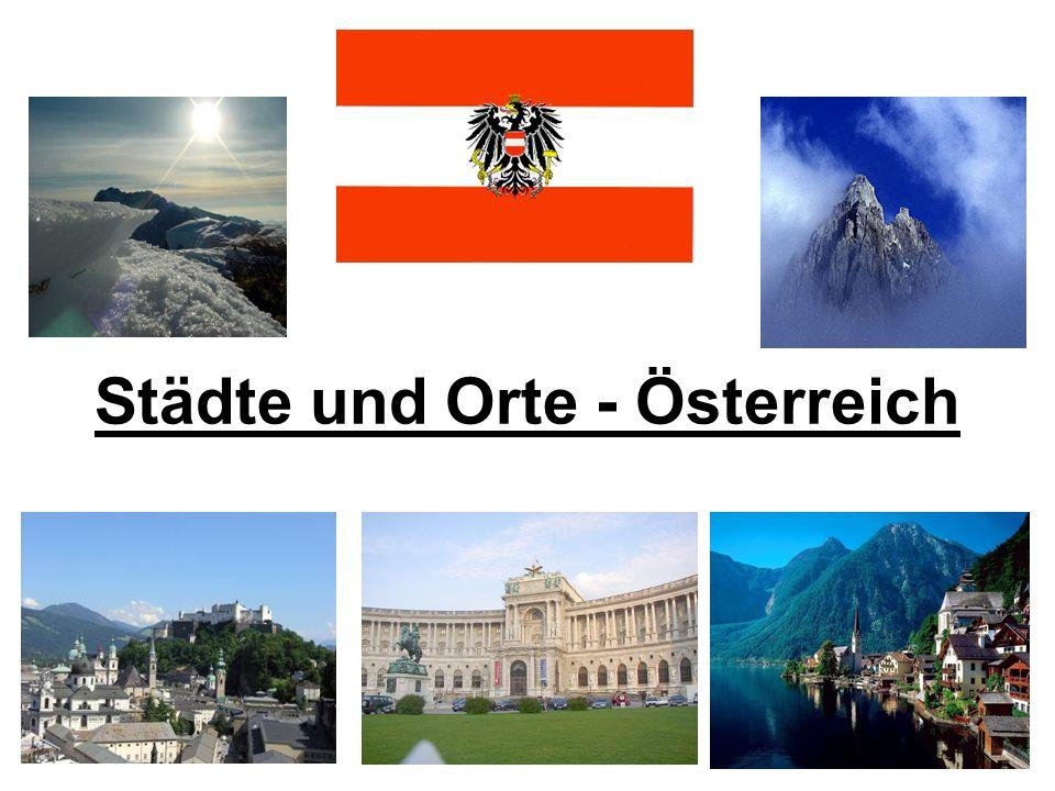 Städte und Orte - Österreich