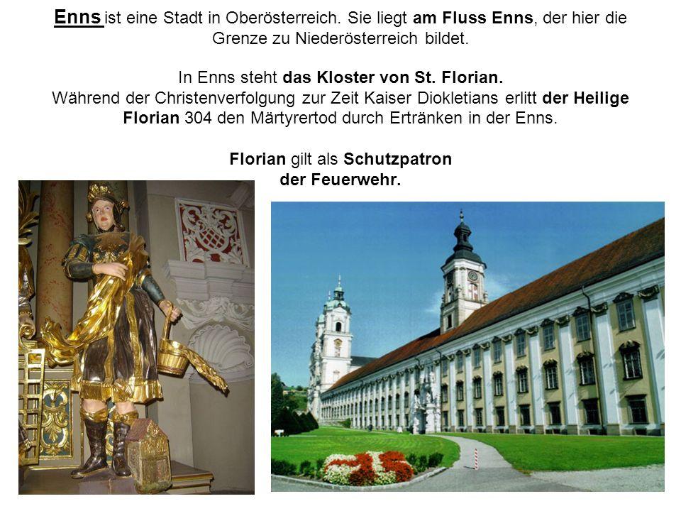 Enns ist eine Stadt in Oberösterreich