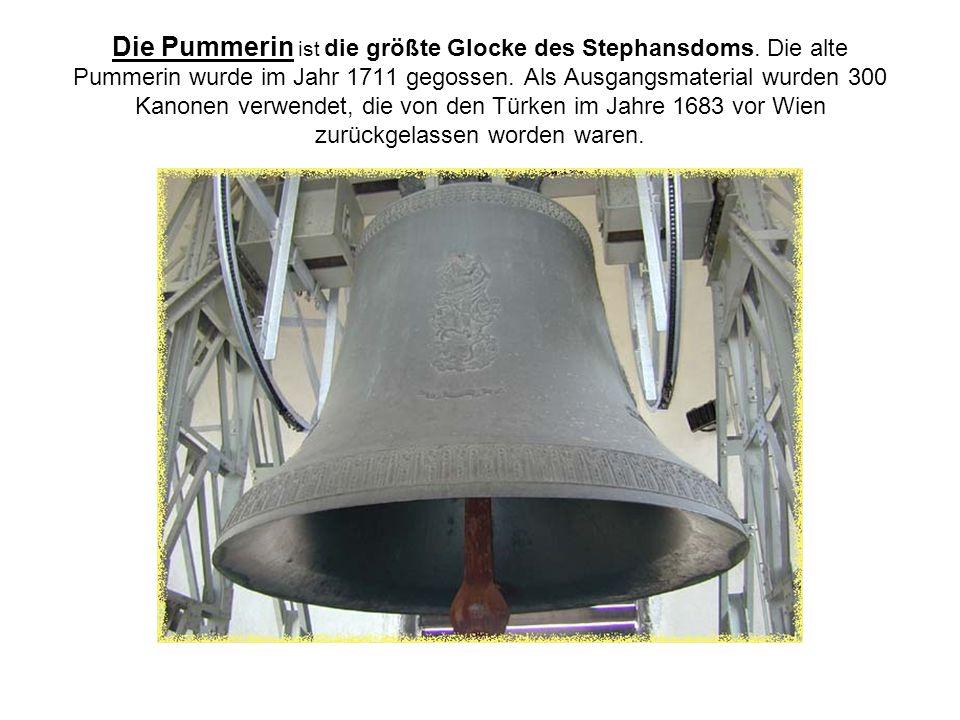 Die Pummerin ist die größte Glocke des Stephansdoms