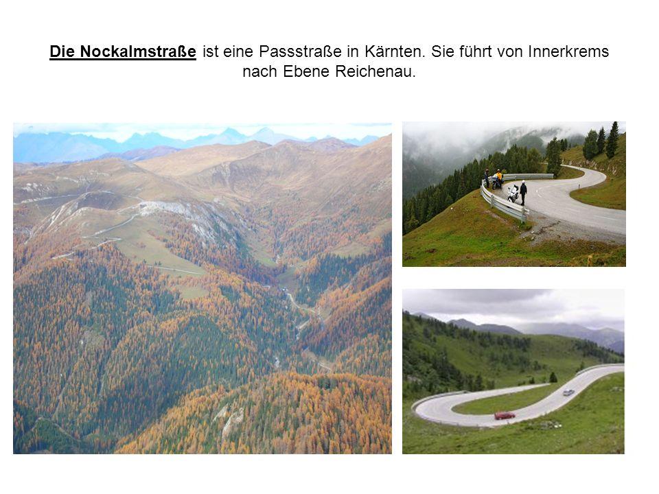 Die Nockalmstraße ist eine Passstraße in Kärnten