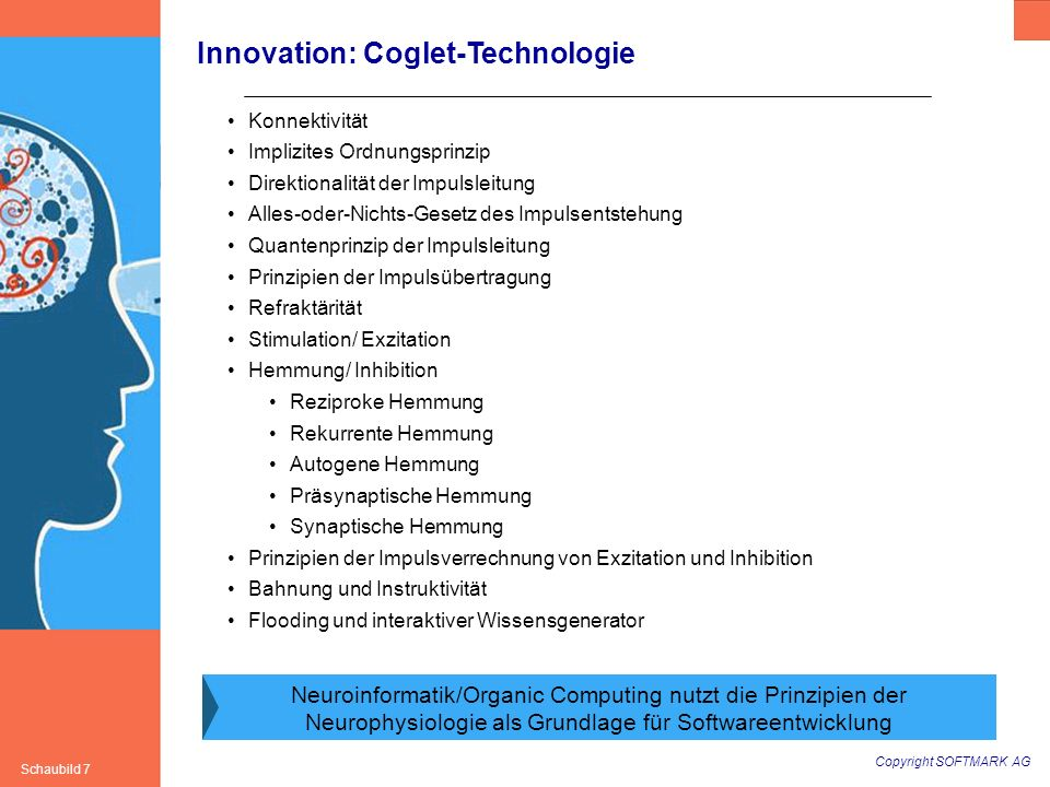 Innovation: Coglet-Technologie