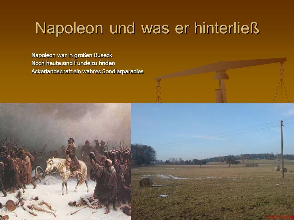 Napoleon und was er hinterließ