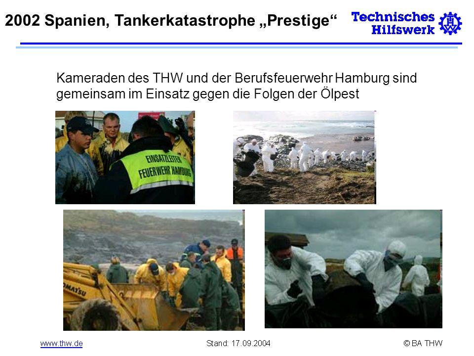 """2002 Spanien, Tankerkatastrophe """"Prestige"""