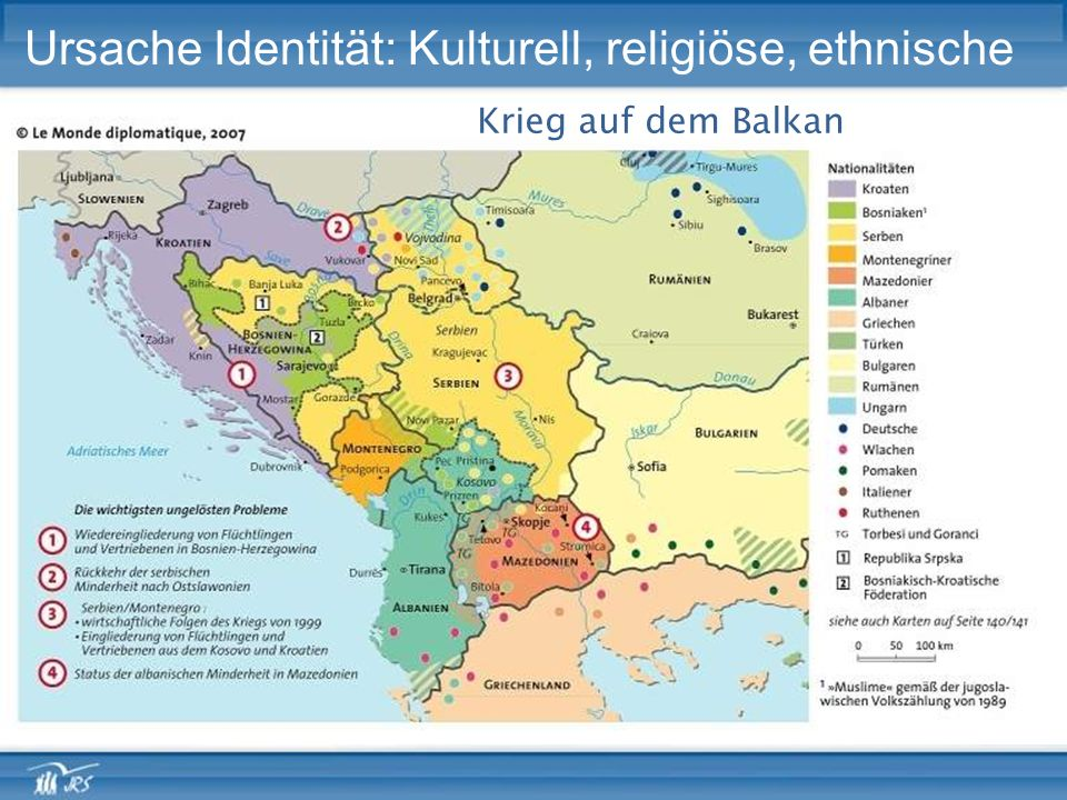 Ursache Identität: Kulturell, religiöse, ethnische