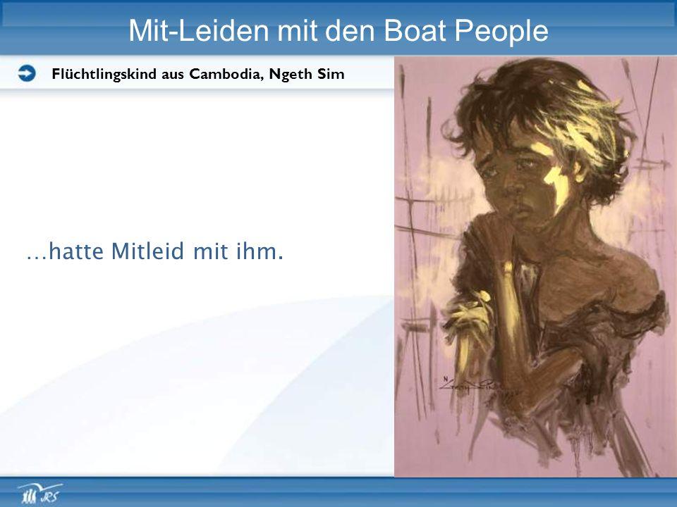 Mit-Leiden mit den Boat People