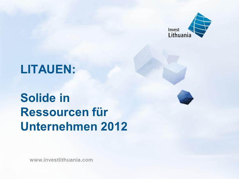 LITAUEN: Solide in Ressourcen für Unternehmen 2012