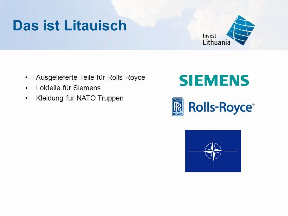 Das ist Litauisch Ausgelieferte Teile für Rolls-Royce