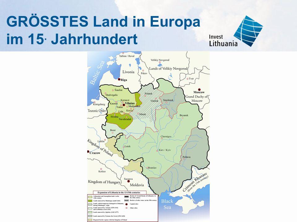GRÖSSTES Land in Europa