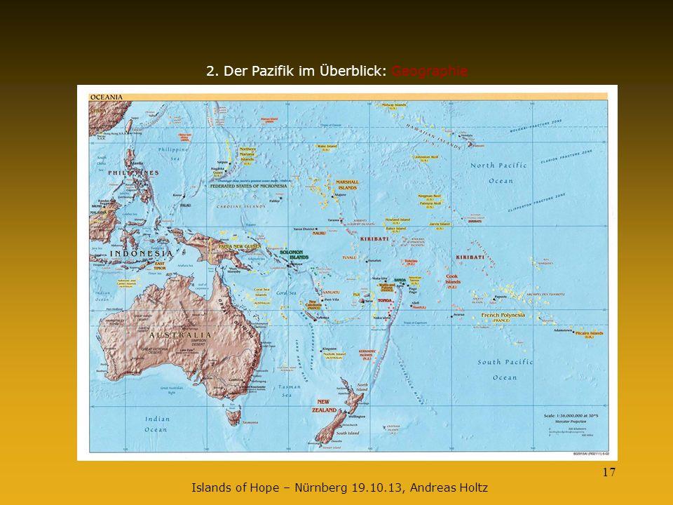 2. Der Pazifik im Überblick: Geographie