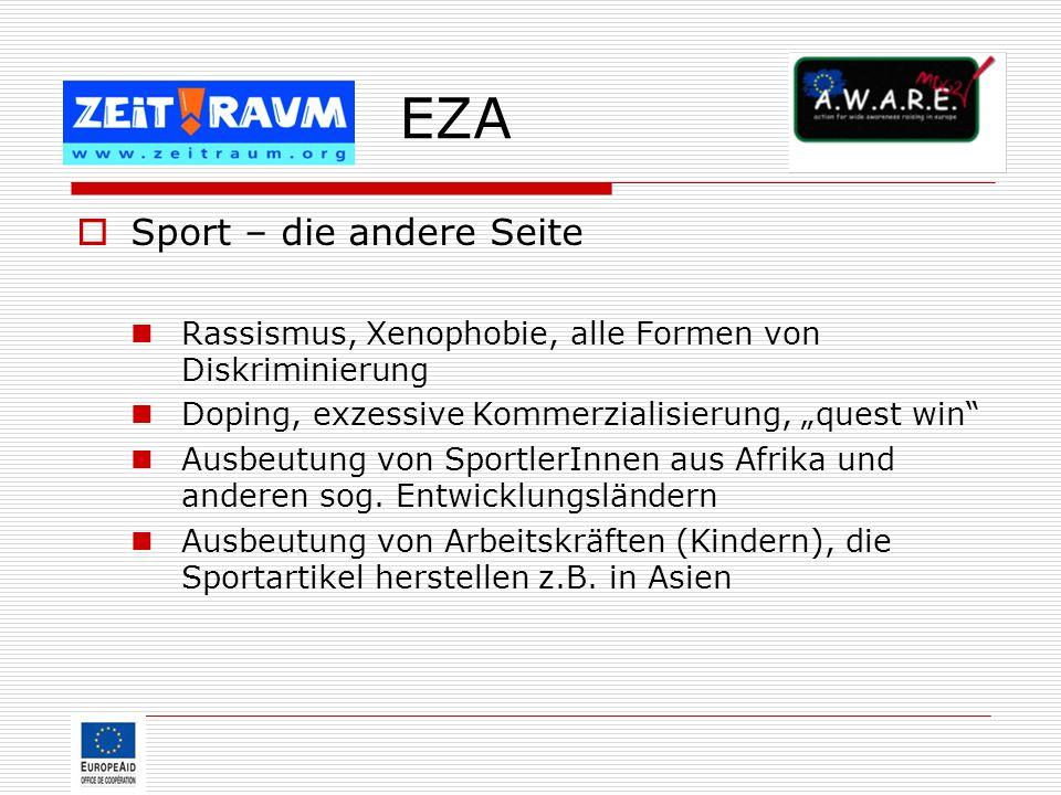 EZA Sport – die andere Seite