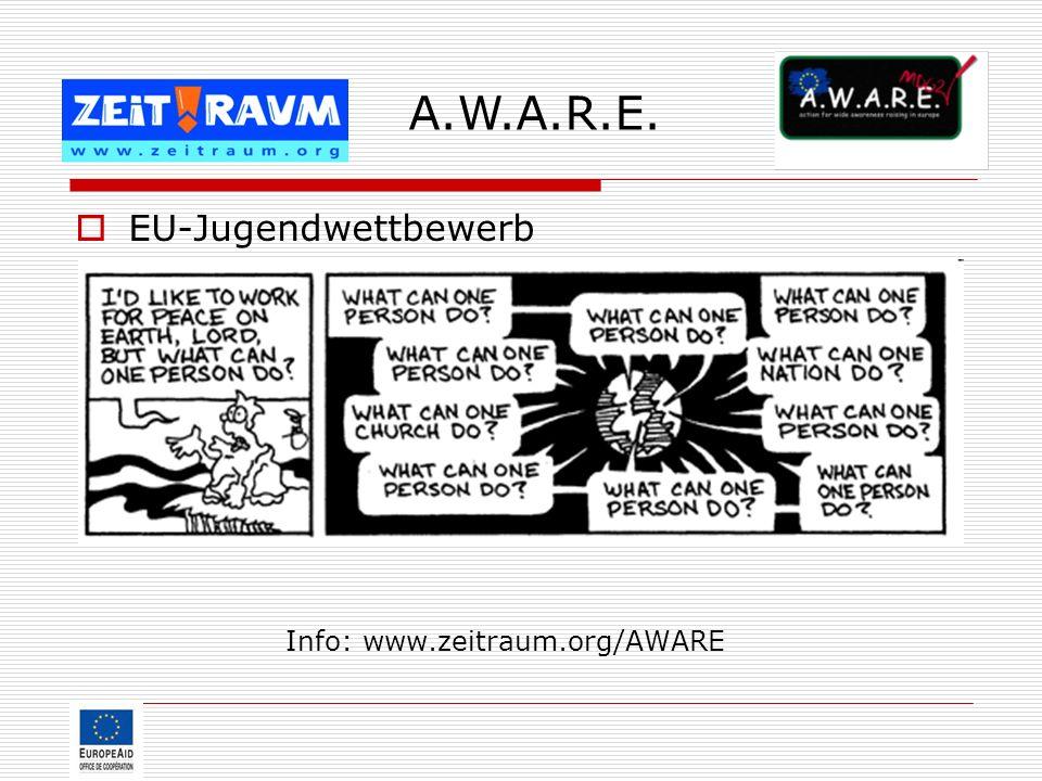 Info: www.zeitraum.org/AWARE