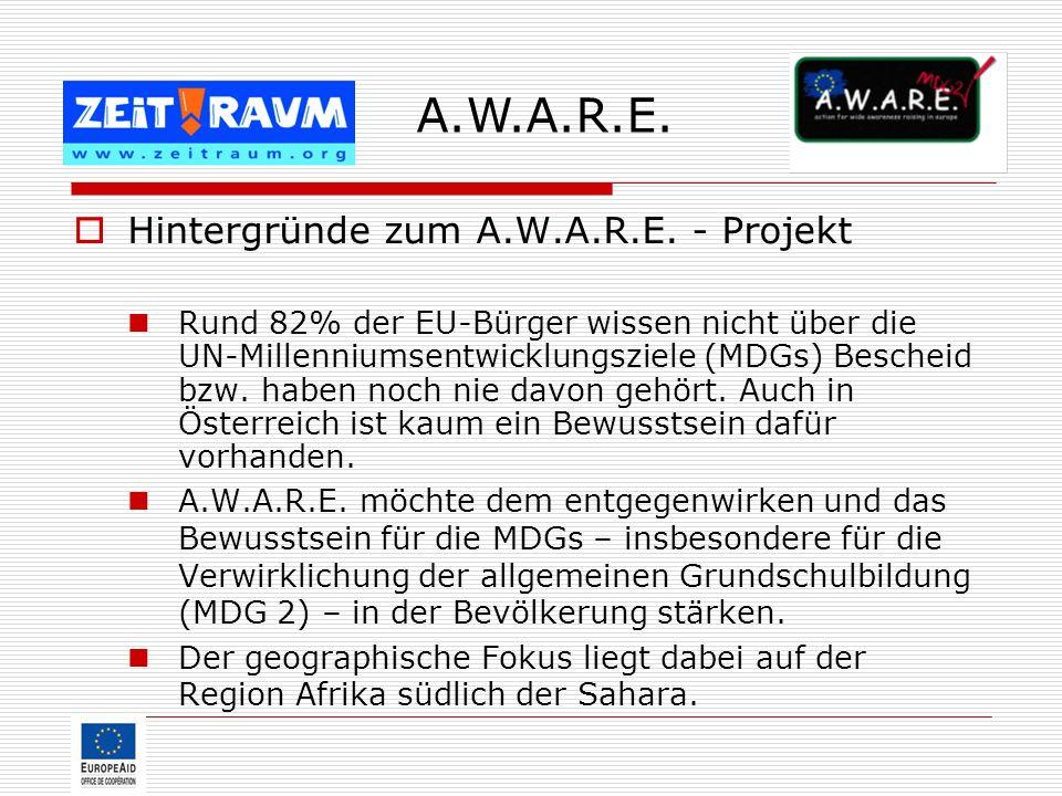 A.W.A.R.E. Hintergründe zum A.W.A.R.E. - Projekt