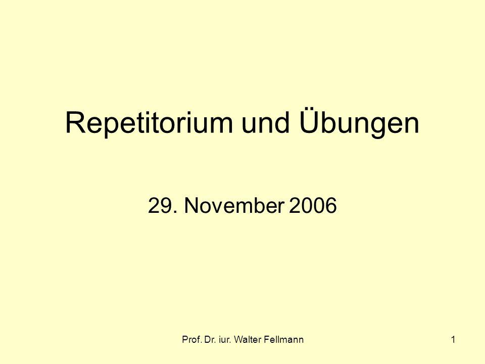 Repetitorium und Übungen