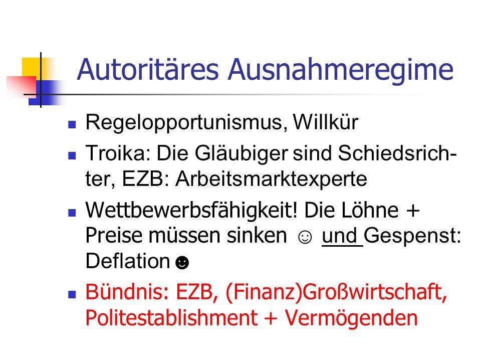 Autoritäres Ausnahmeregime
