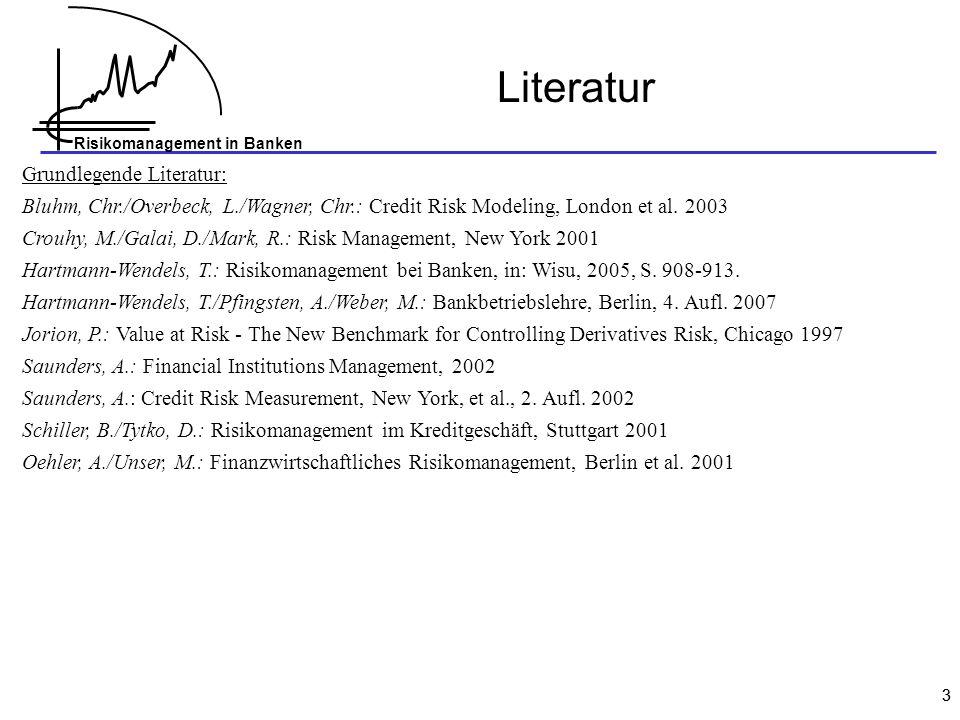 Literatur Grundlegende Literatur: