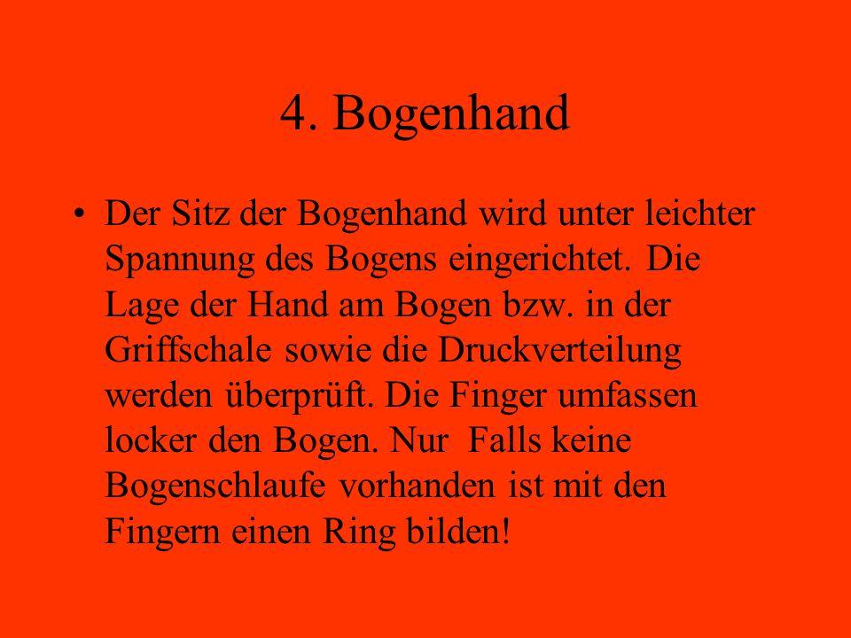 4. Bogenhand