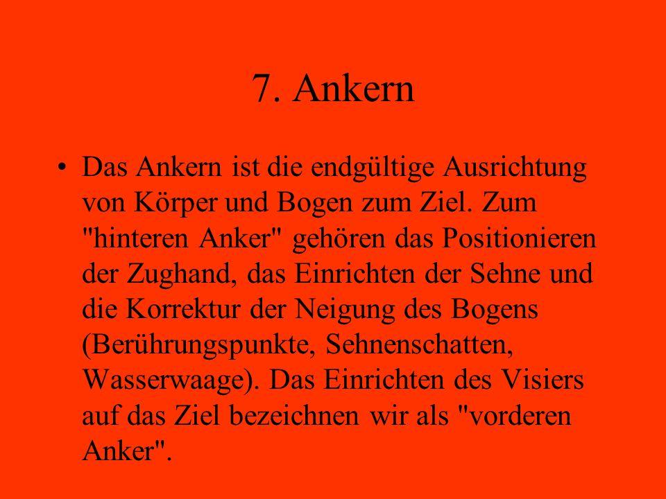 7. Ankern