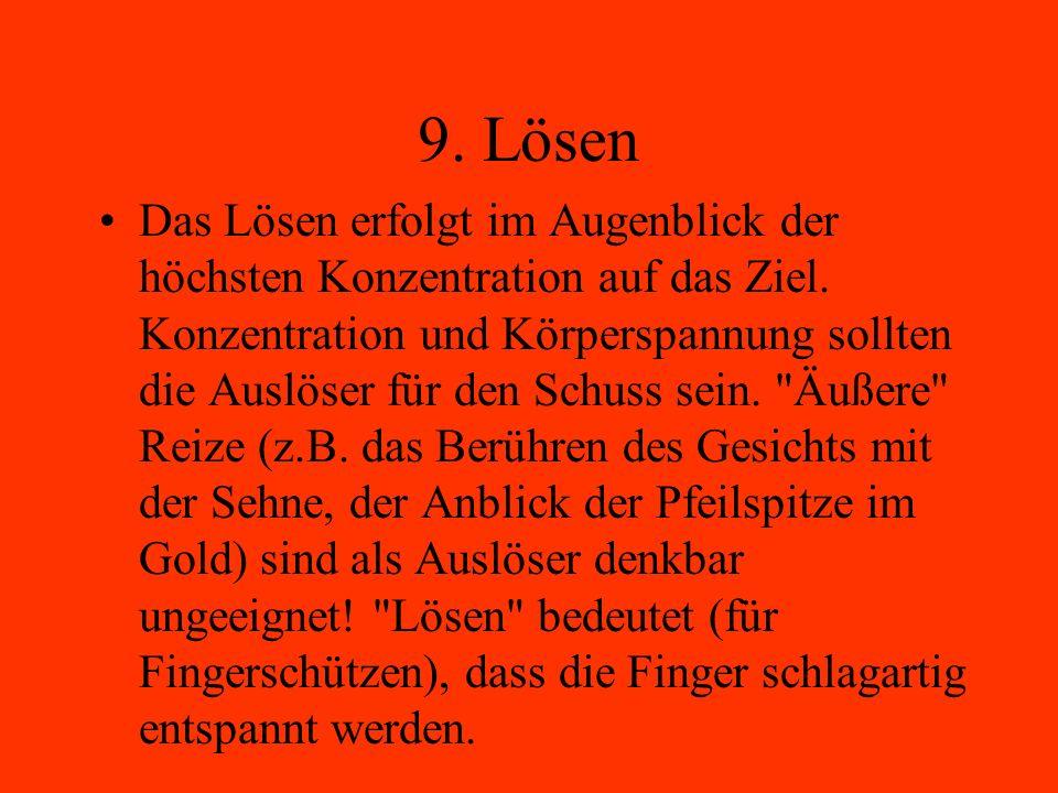 9. Lösen