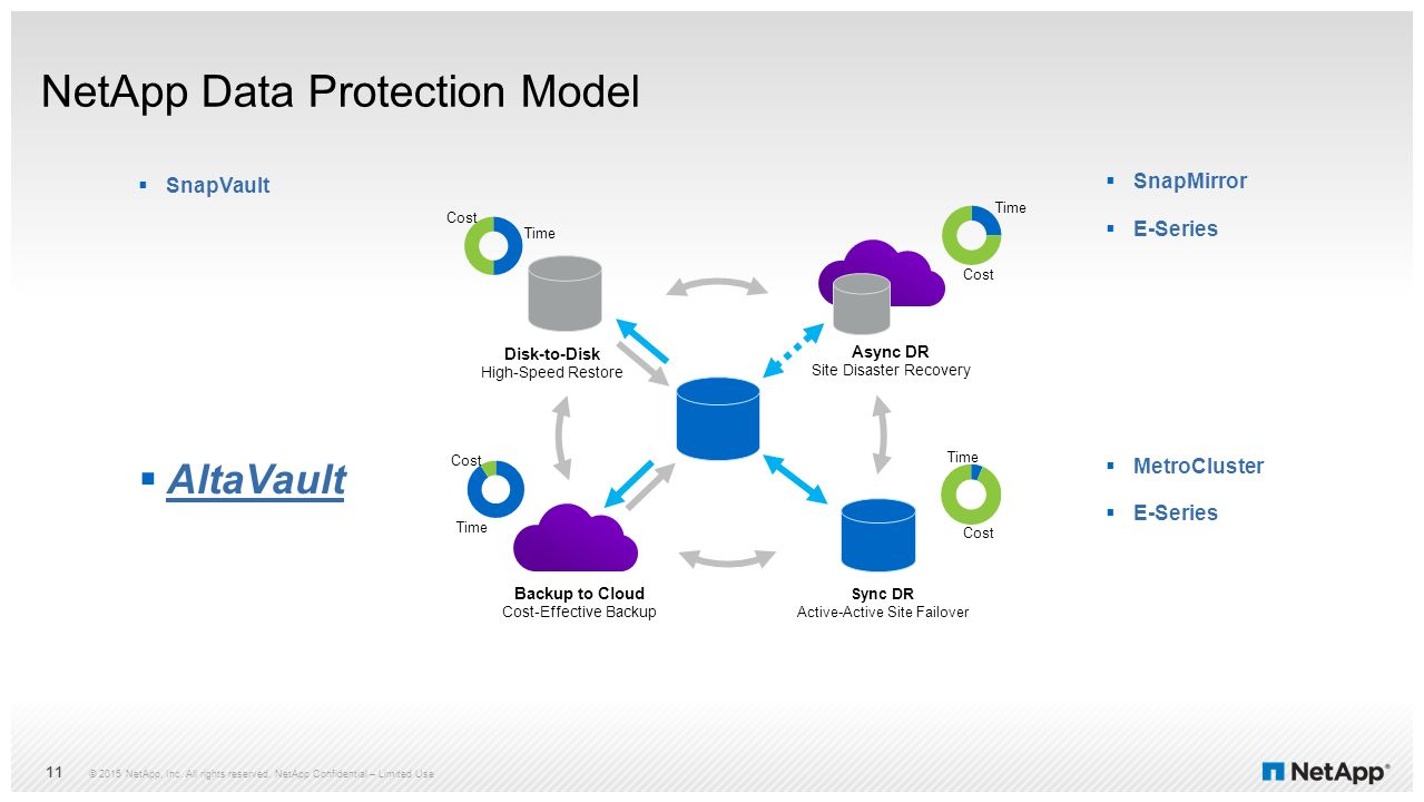 NetApp Data Protection Model